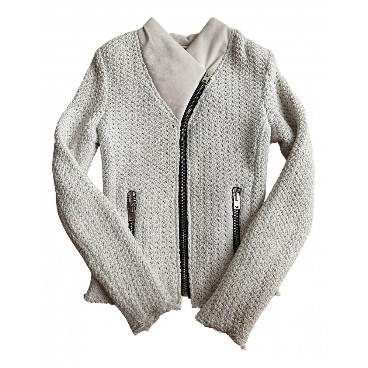 Iro - Veste   pour femme en coton - ecru