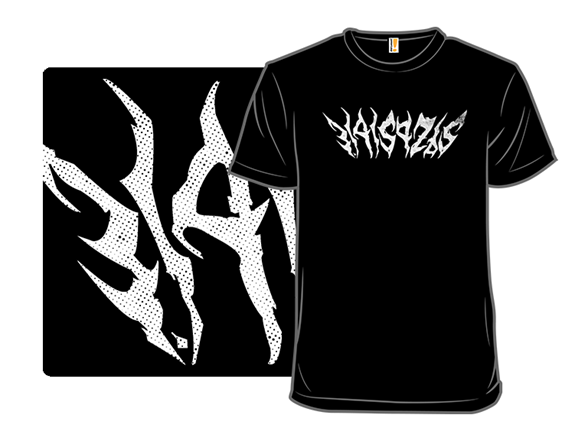 Black Metal Pi T Shirt