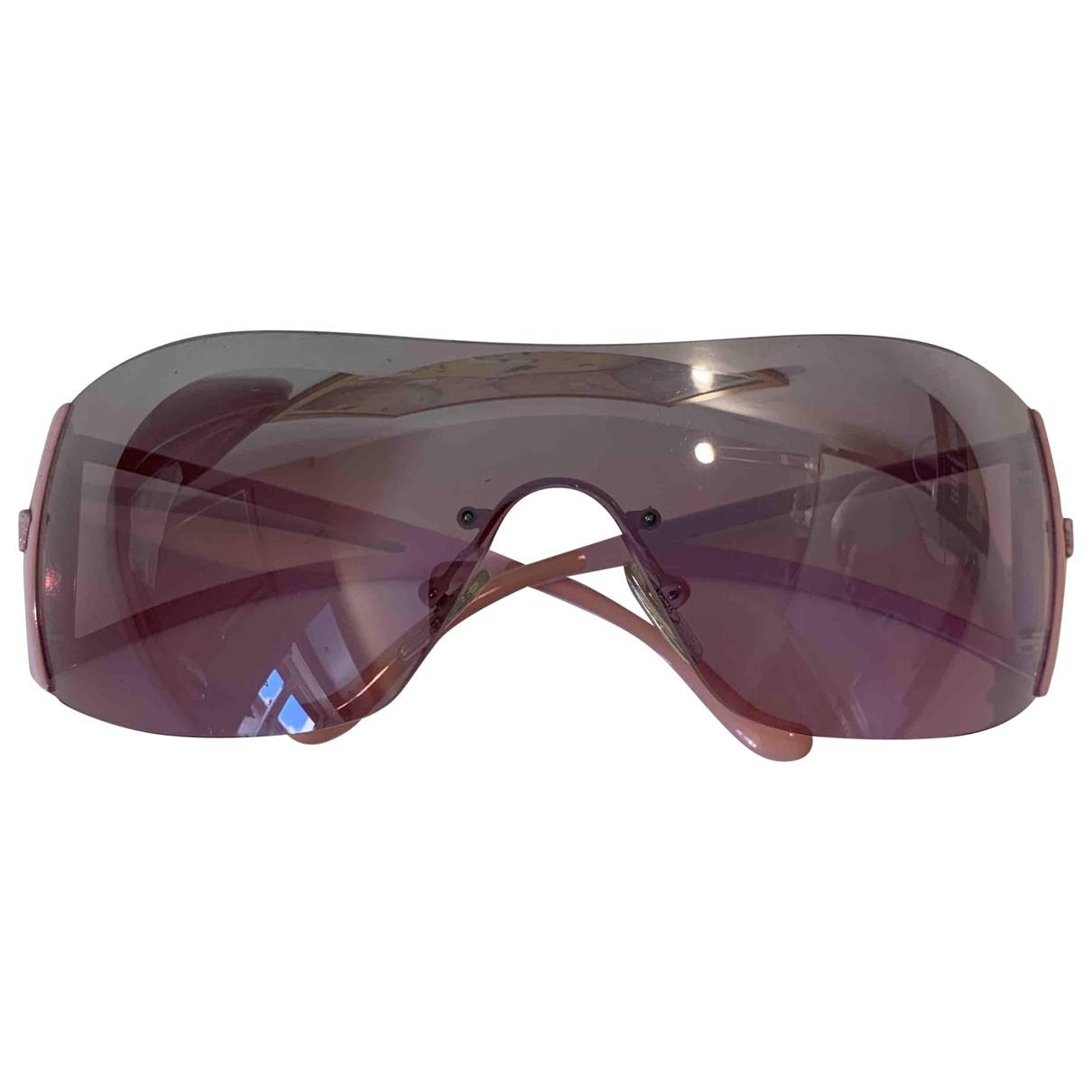 Versace N Pink Metal Sunglasses for Women N