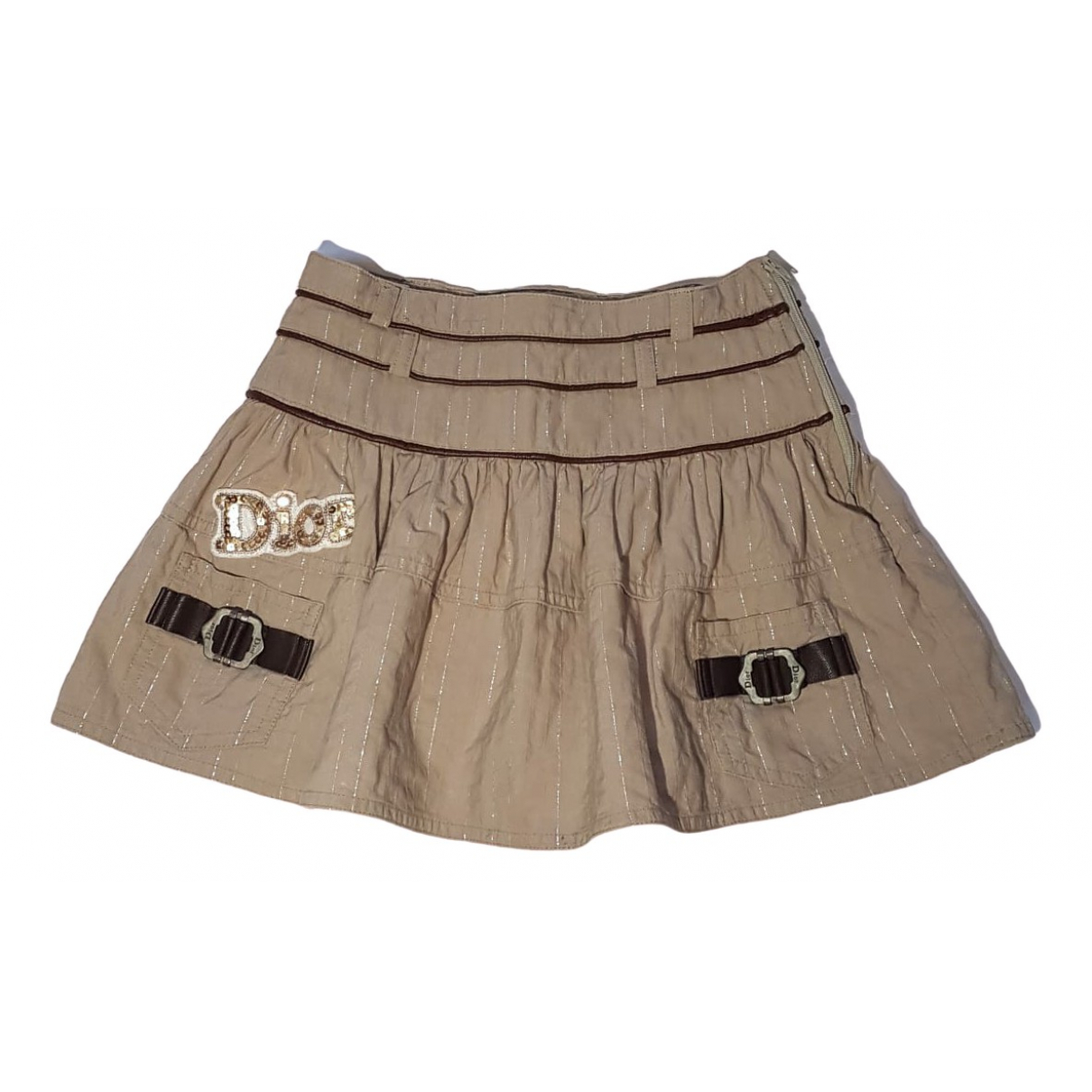 Dior \N Beige Cotton skirt for Kids 6 years - up to 114cm FR