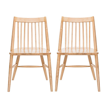 Wren Dining Side Chair-Set of 2, One Size , White