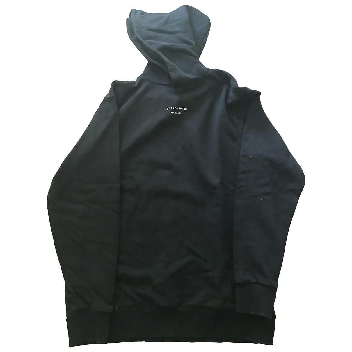 Drole De Monsieur \N Pullover.Westen.Sweatshirts  in  Schwarz Wolle