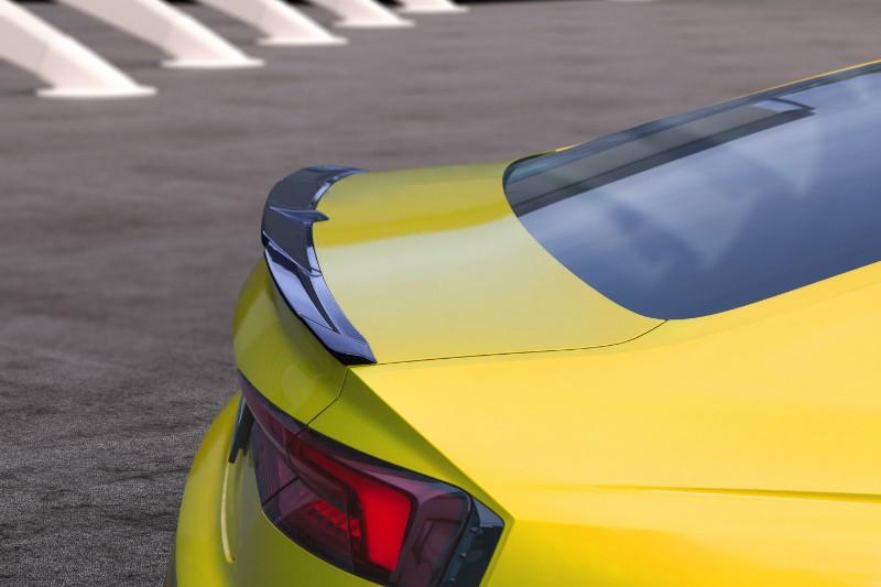Capristo Exhaust 03AU00510007KG Carbon Fiber Rear Decklid Spoiler Audi RS5 (F5) 2016-2021