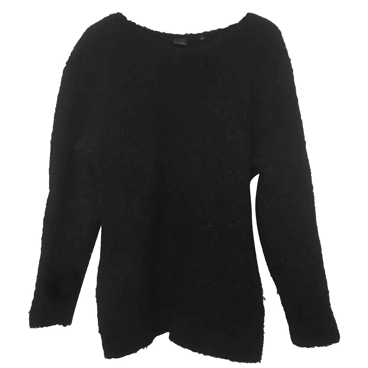 Paul Smith \N Pullover.Westen.Sweatshirts  in  Schwarz Wolle