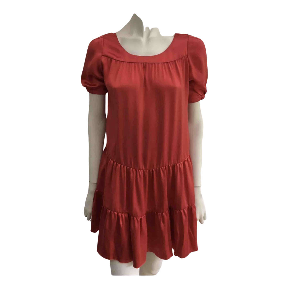 Mini vestido de Seda Jasmine Di Milo