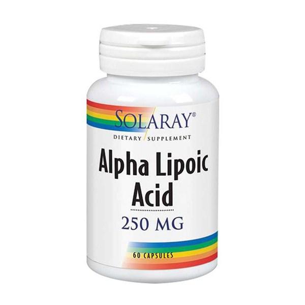 Alpha Lipoic Acid 60 Caps by Solaray