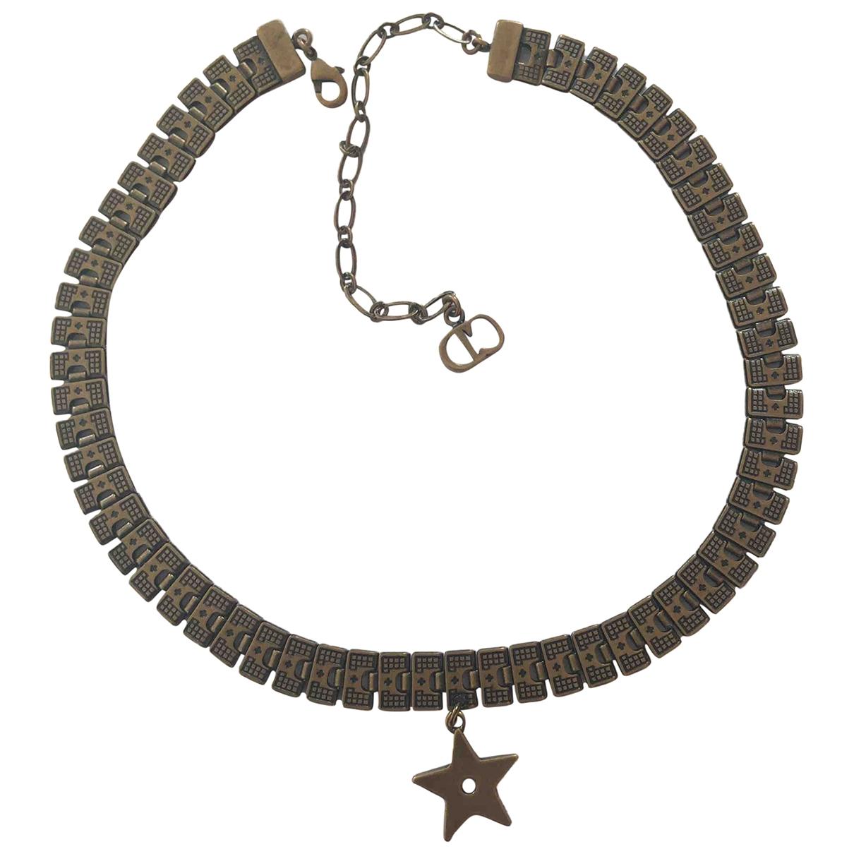 Dior \N Kette in  Metallic Metall