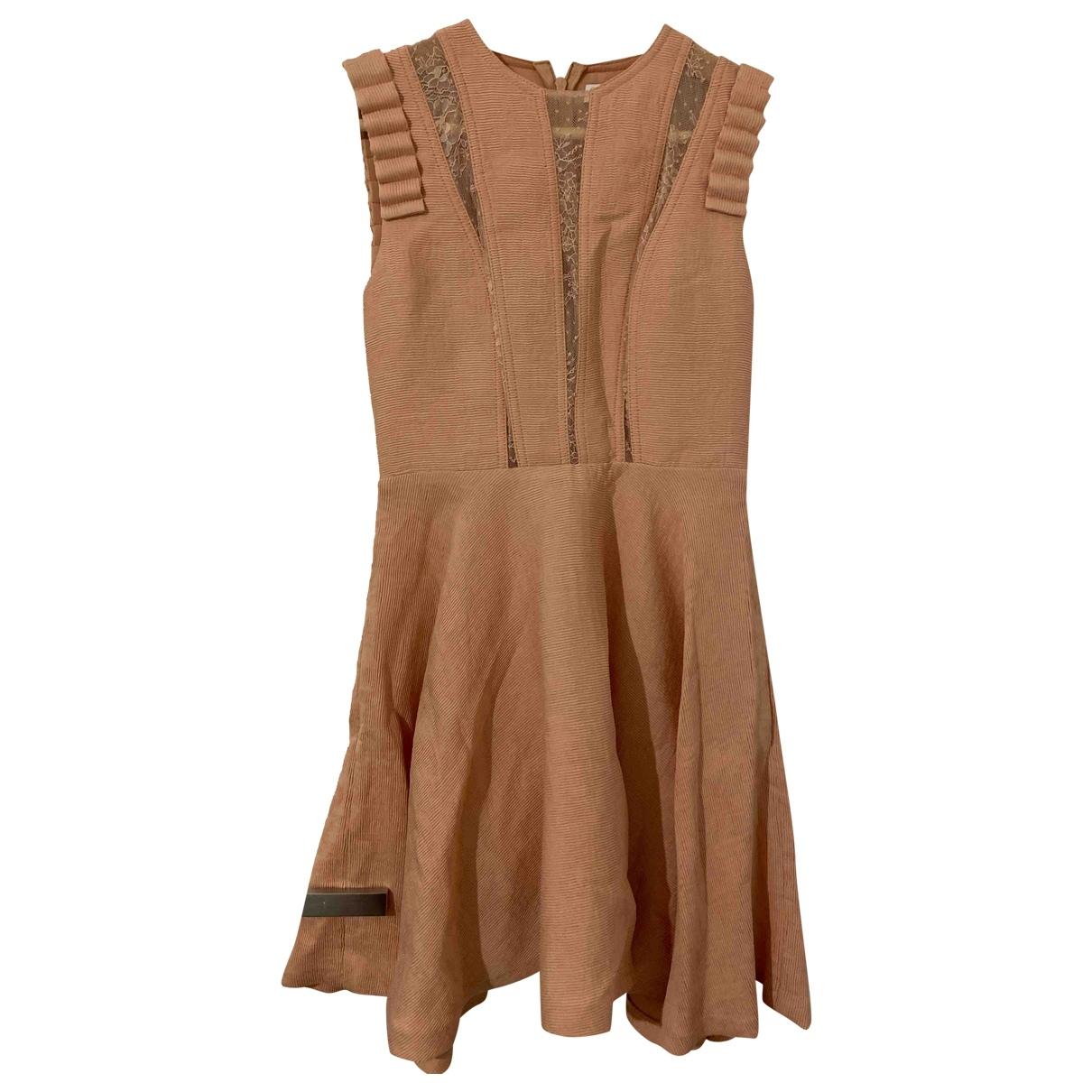 Sandro \N Pink dress for Women 34 FR