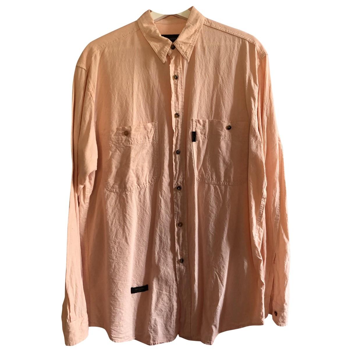 Valentino Garavani \N Hemden in  Rosa Baumwolle