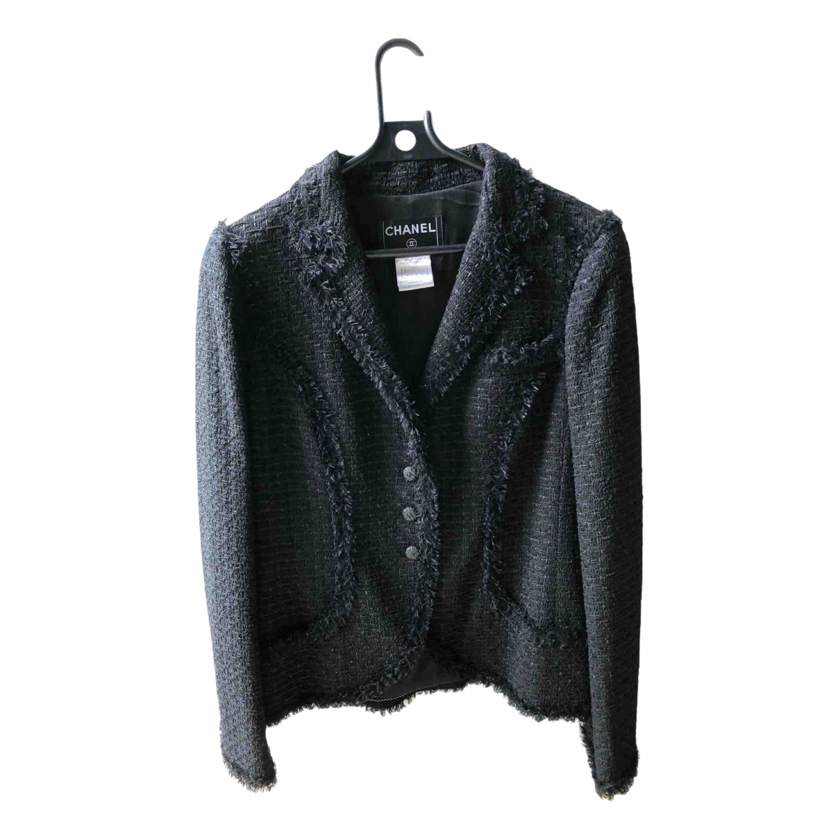 Chanel \N Black jacket for Women 44 FR
