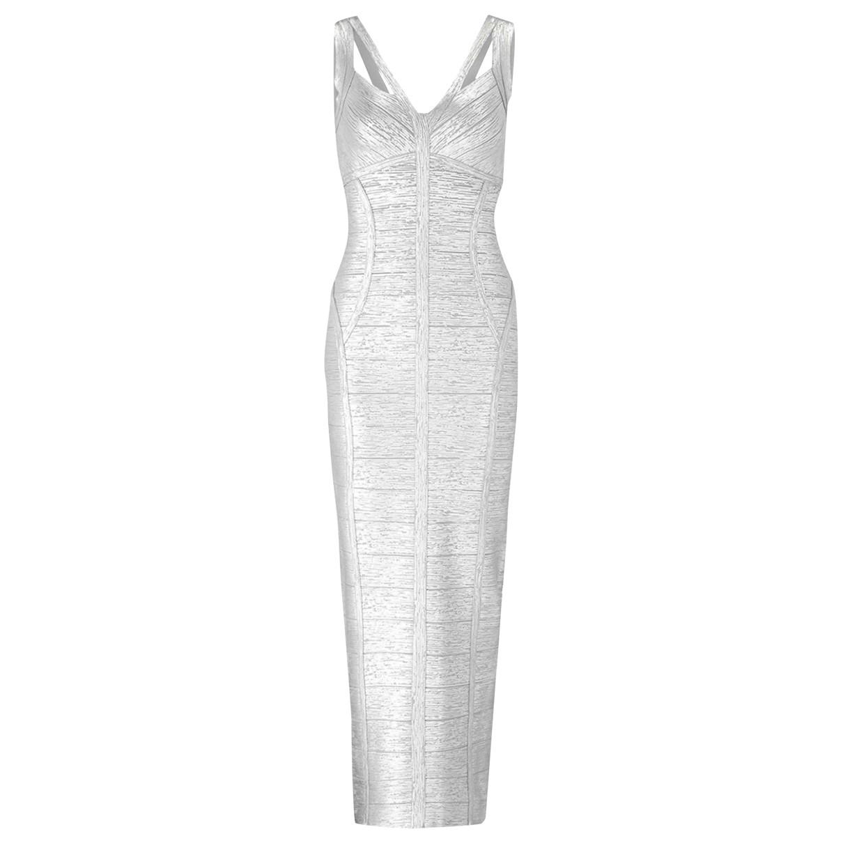 Karen Millen \N Silver dress for Women S International