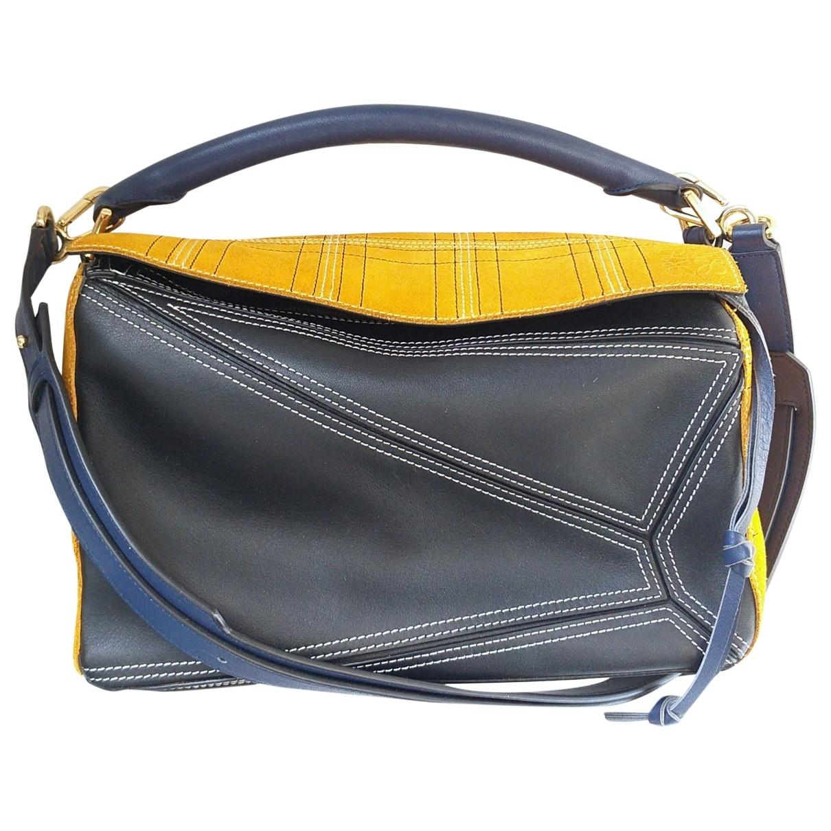 Loewe Puzzle  Multicolour Leather handbag for Women \N