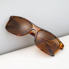 Maenner Sonnenbrille mit Schildpatt Muster Rahmen