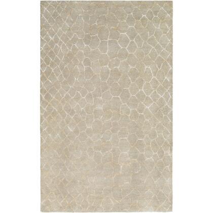 Naya NY-5275 8' x 11' Rectangle Modern Rug in Khaki