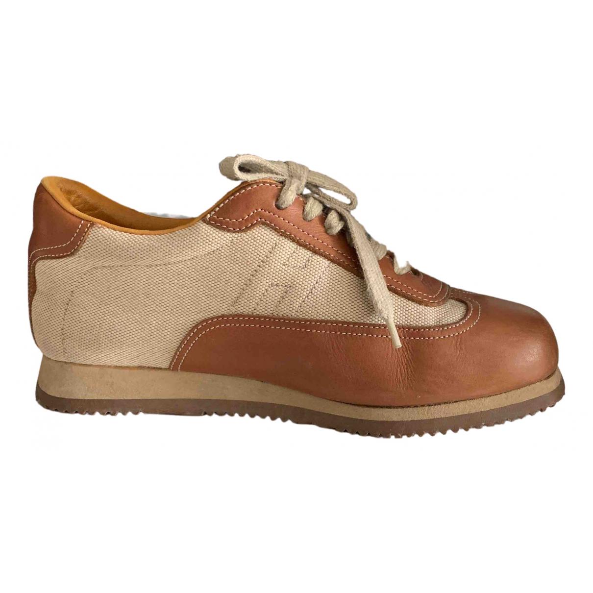 Hermes \N Sneakers in  Kamel Leder