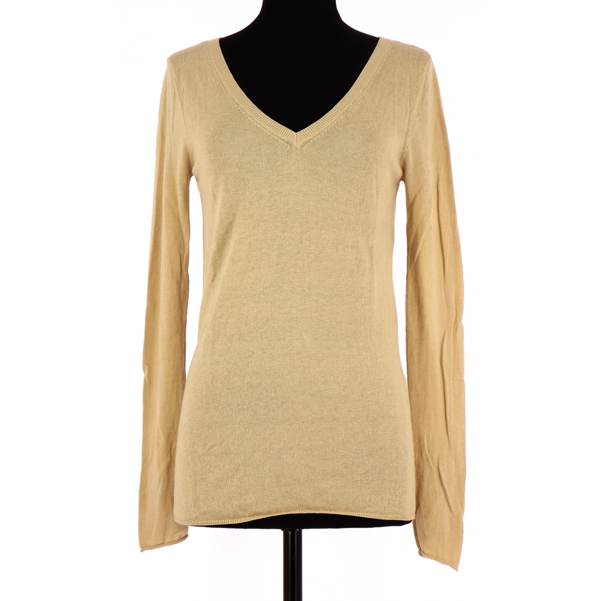 Berenice \N Yellow Cotton Knitwear for Women 34 FR