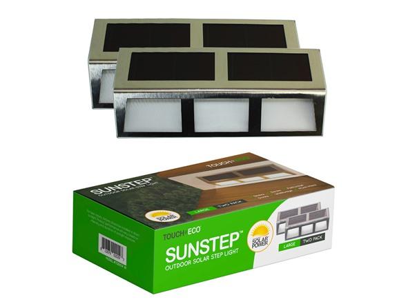 Solar Sunsteps Outdoor Lights, Large