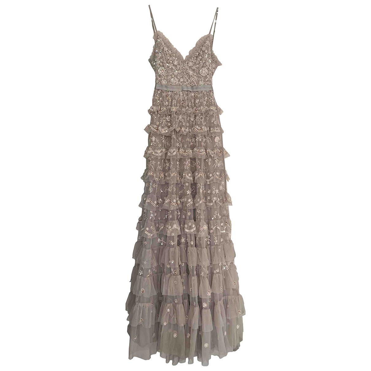 Needle & Thread - Robe   pour femme - gris