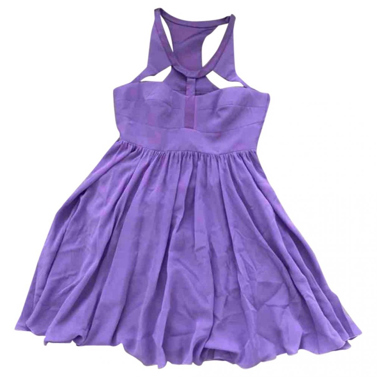 Versace X H&m - Robe   pour femme en soie - violet