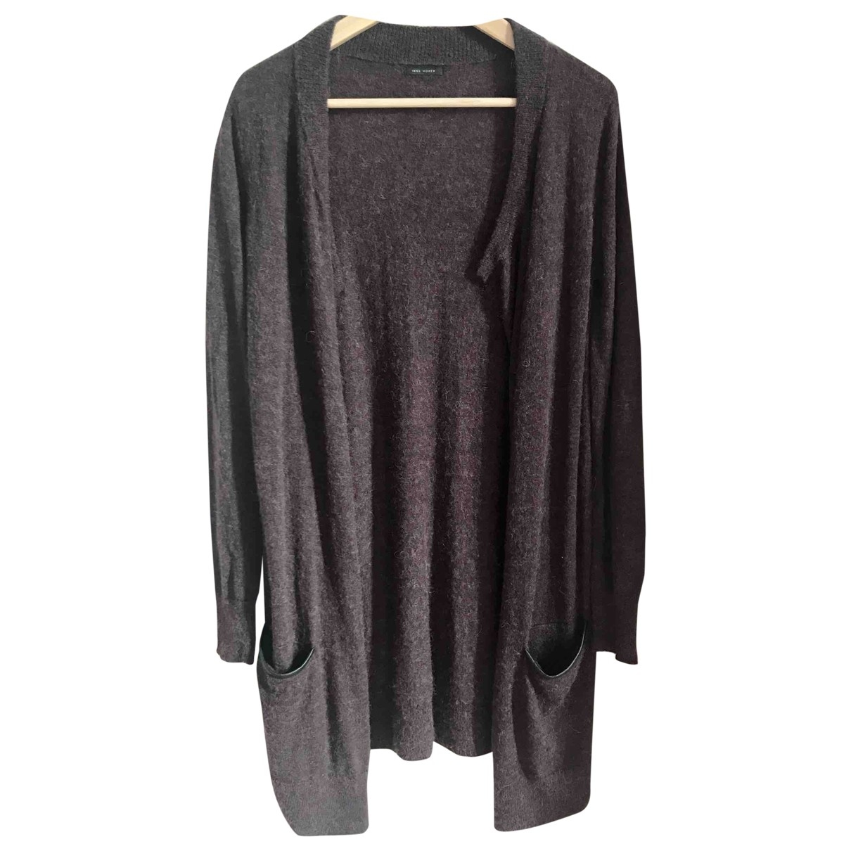 Ikks \N Pullover in  Lila Wolle