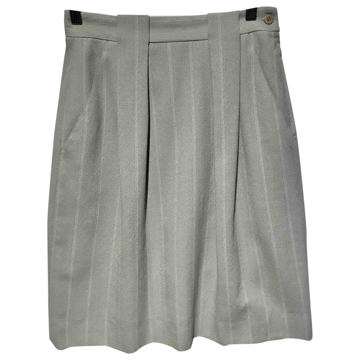 Giorgio Armani - Jupe   pour femme en laine - gris