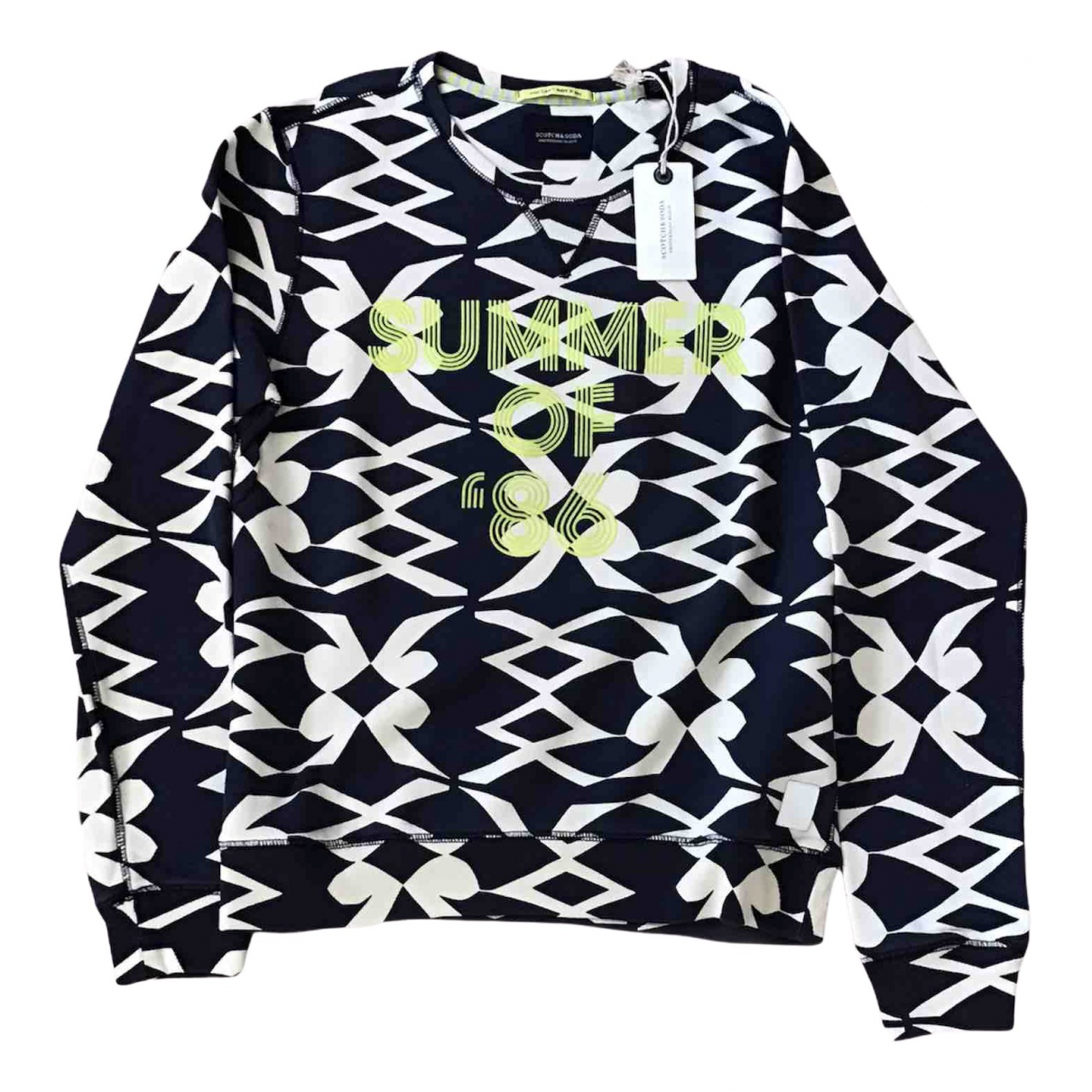 Scotch & Soda \N Pullover.Westen.Sweatshirts  in  Bunt Baumwolle