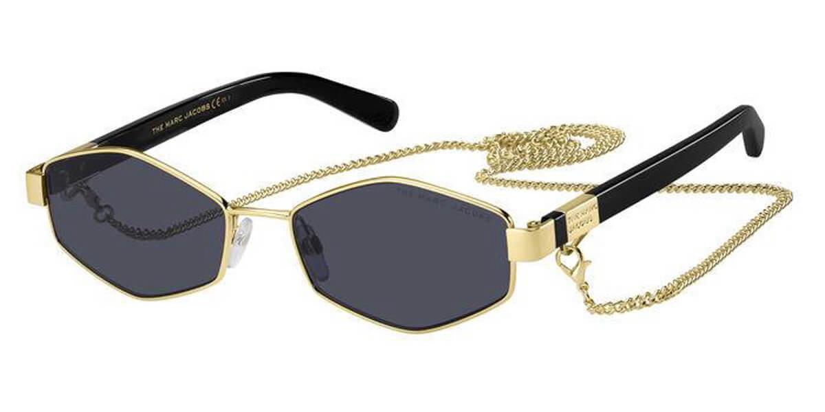 Marc Jacobs MARC 496/S J5G/IR Women's Sunglasses Gold Size 55