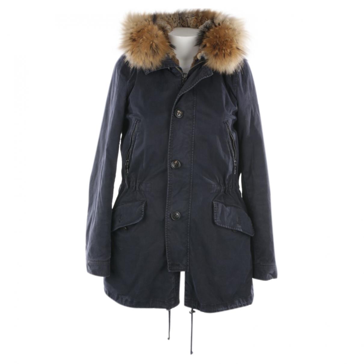 Blonde No.8 \N Blue Cotton coat for Women 48 FR