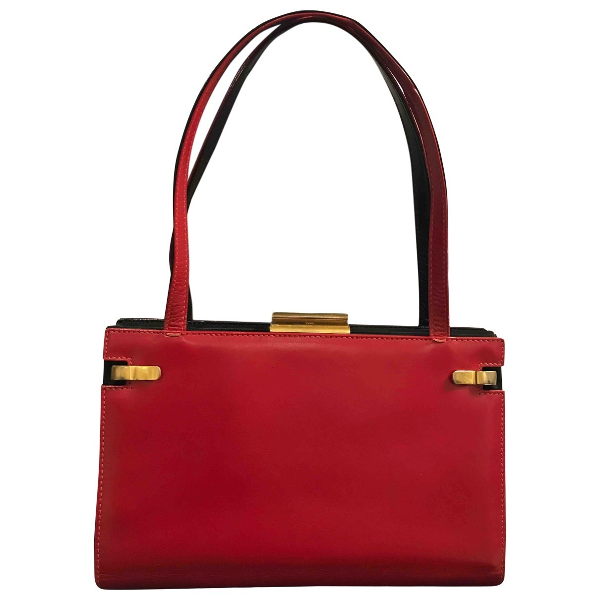 Gucci 1955 Red Leather handbag for Women \N