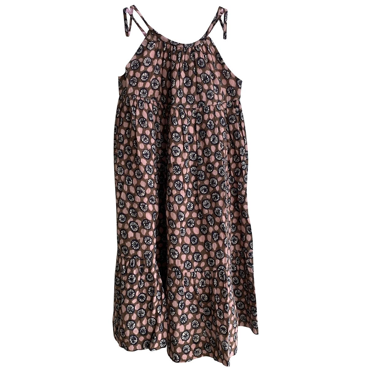 Bonpoint \N Kleid in  Braun Baumwolle