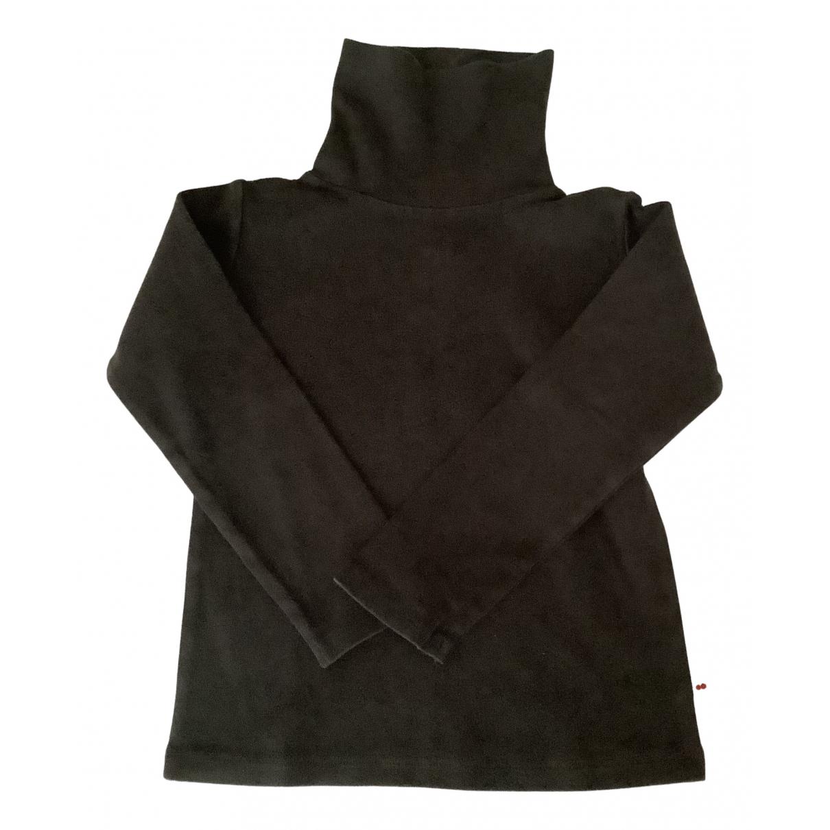 Bonpoint - Pull   pour enfant en coton - noir
