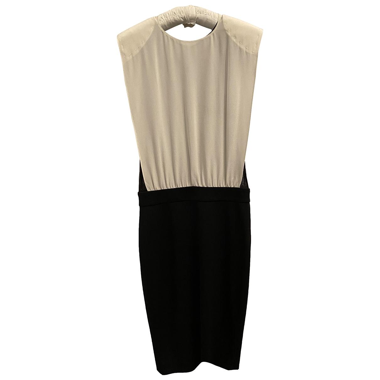 Vestido midi de Seda Simone Rocha