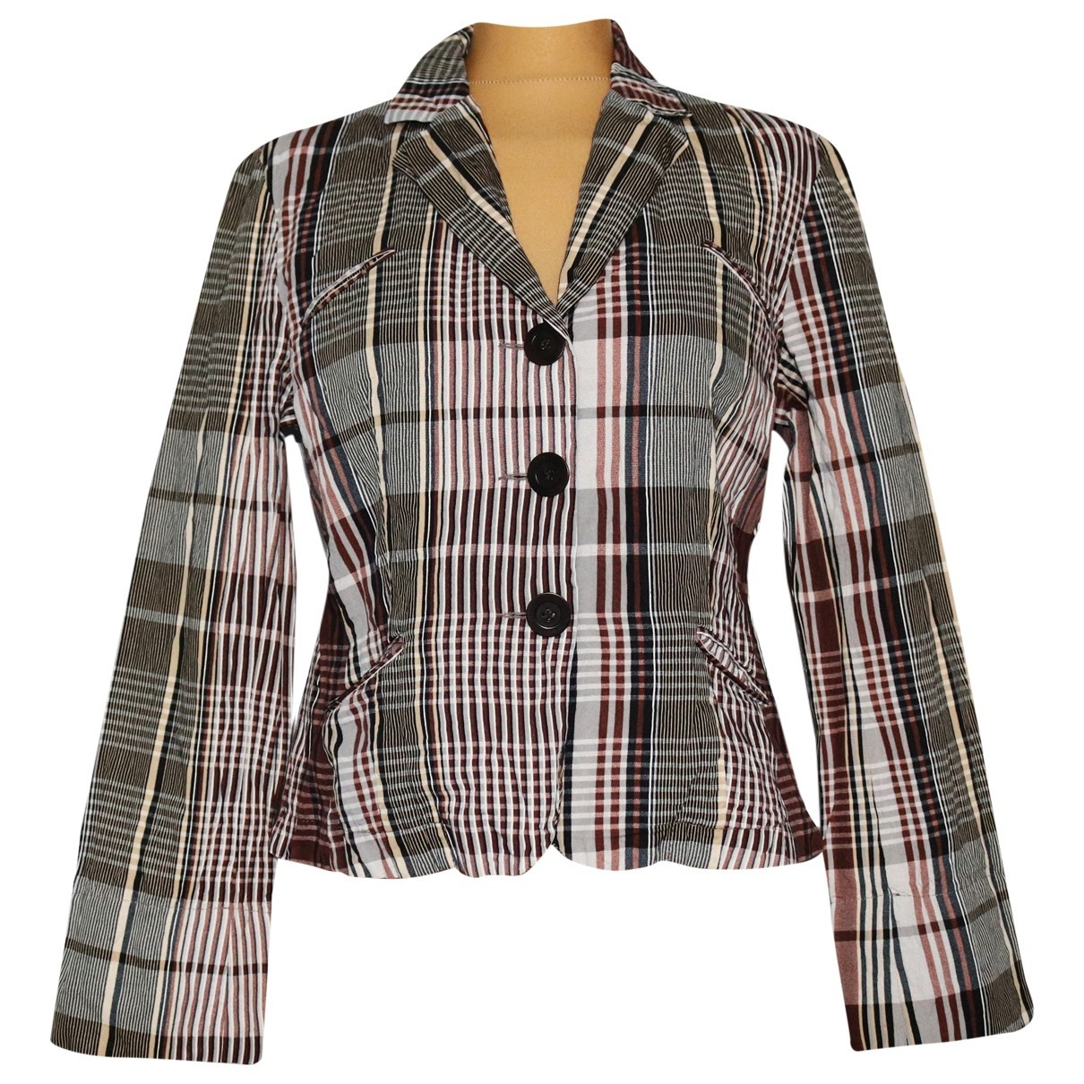 Gerard Darel \N Multicolour Cotton jacket for Women 42 FR