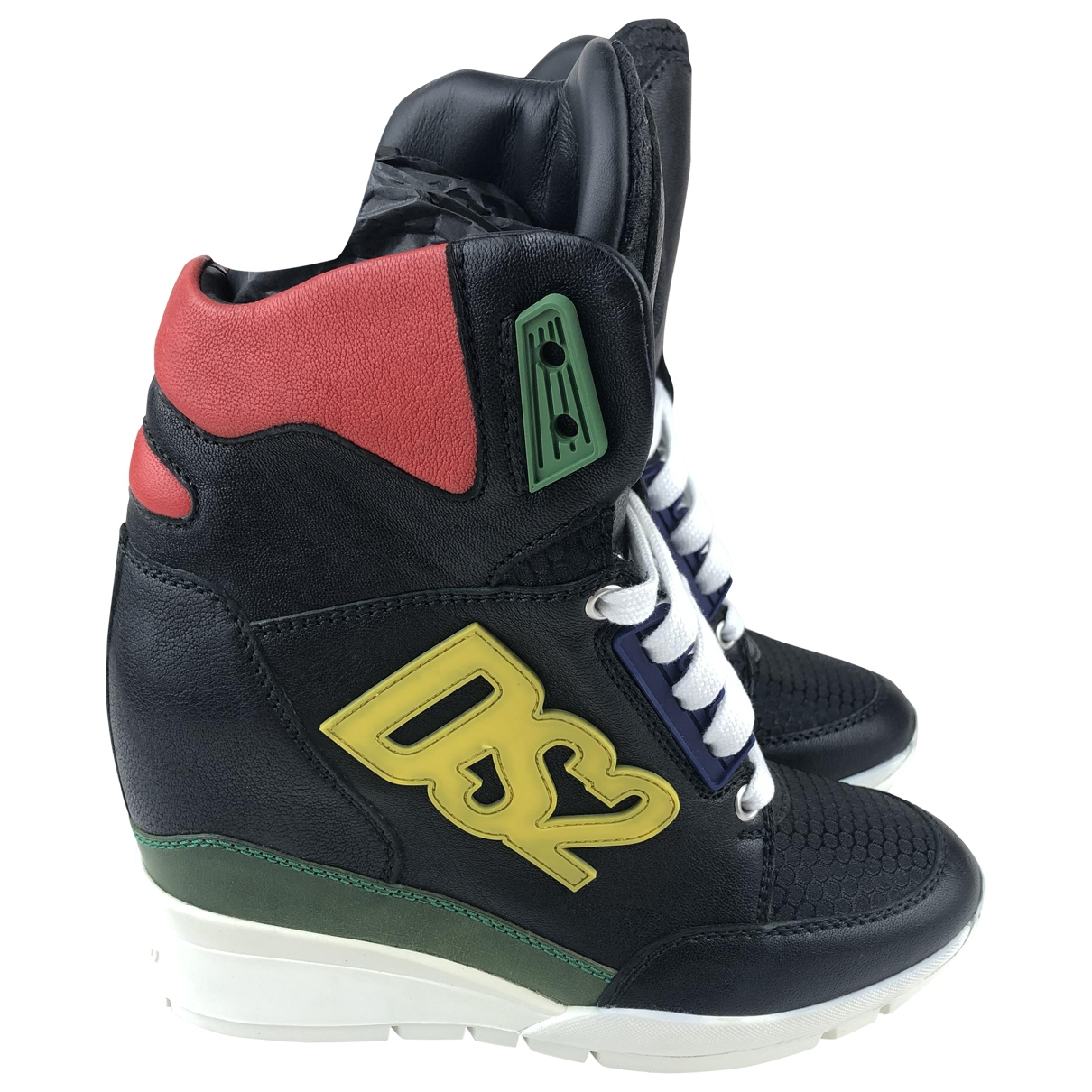 Dsquared2 \N Multicolour Leather Trainers for Women 37 EU