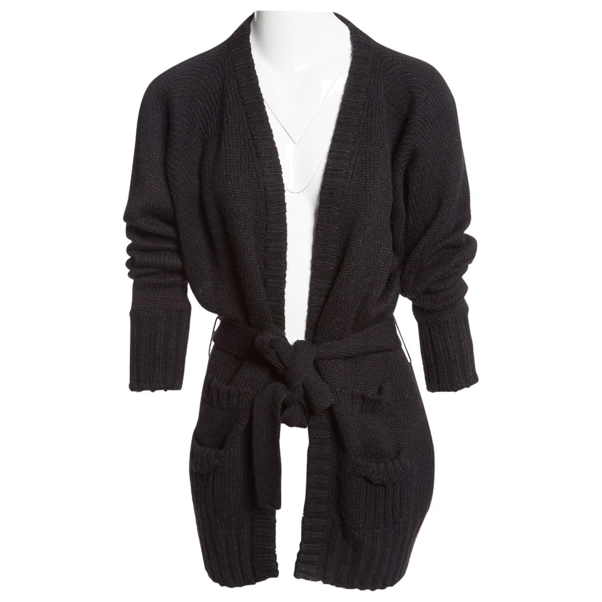 Dolce & Gabbana \N Black Wool Knitwear for Women 44 IT