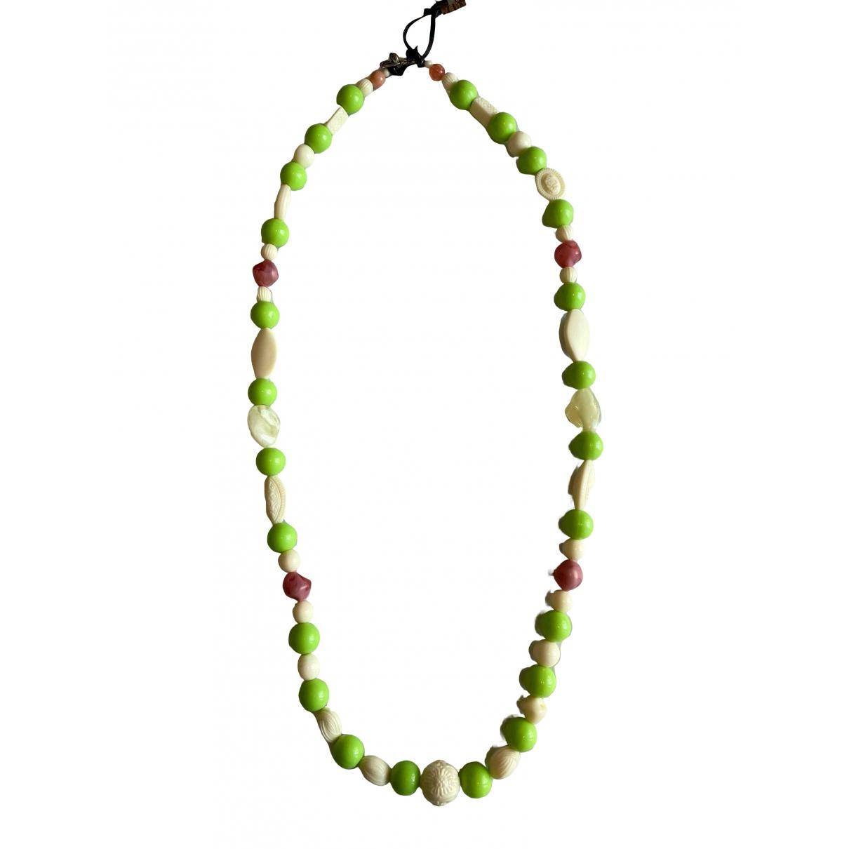 Non Signé / Unsigned Motifs Ethniques Multicolour Long necklace for Women \N