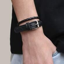 Maenner Armband mit Schnalle