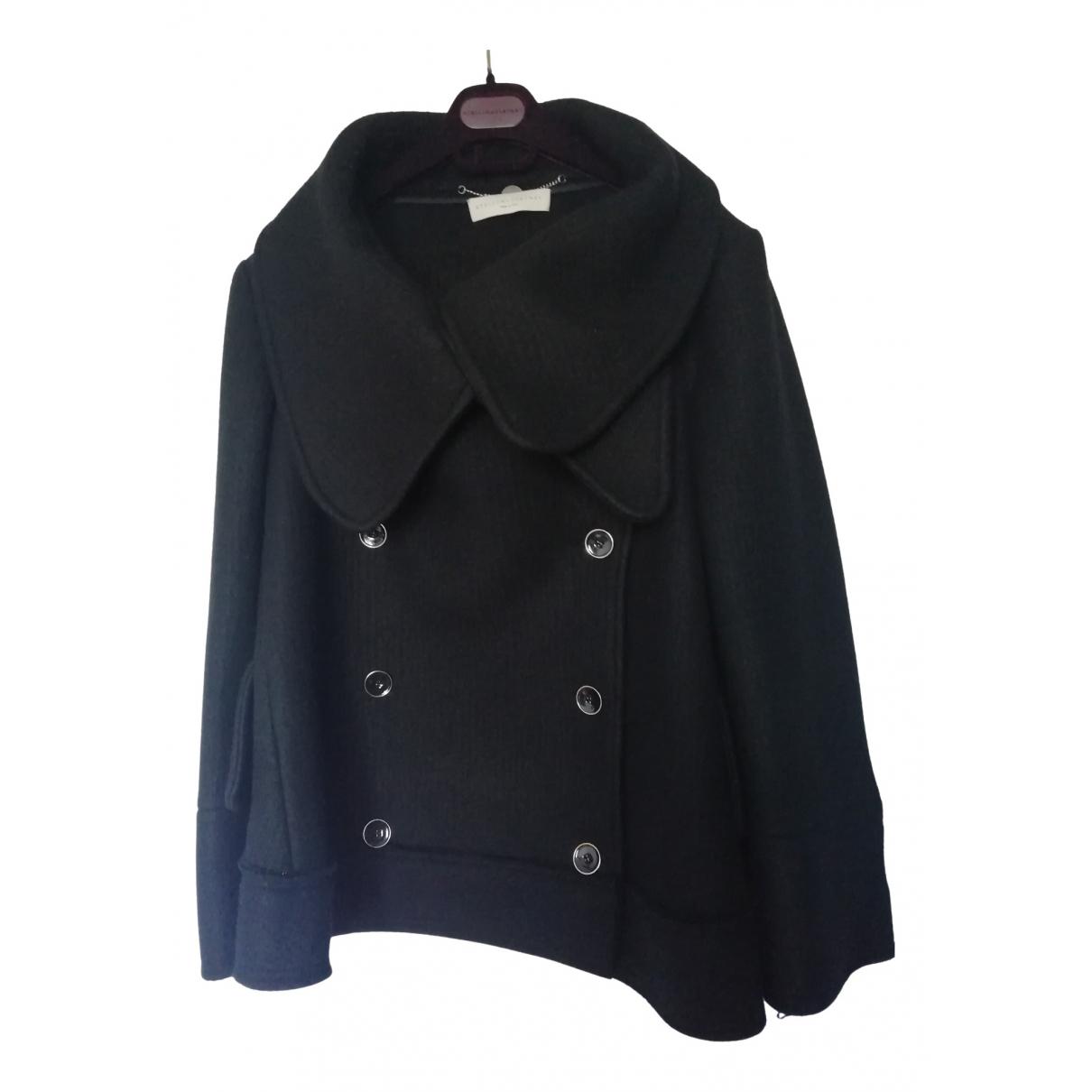 Stella Mccartney \N Black Wool jacket for Women 40 IT