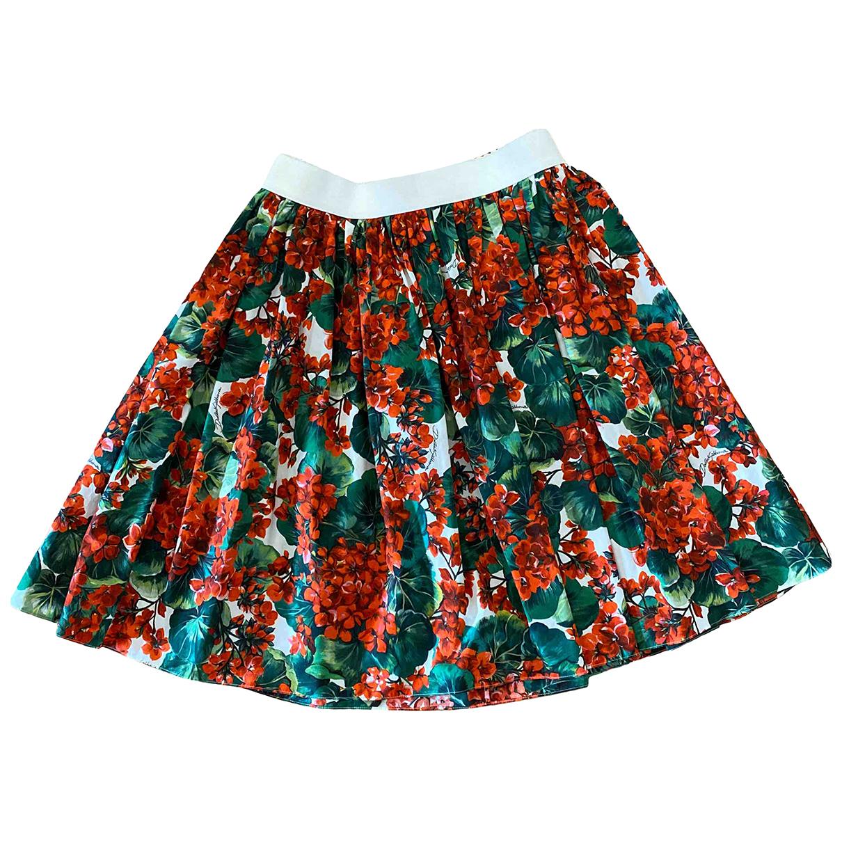 Dolce & Gabbana N Multicolour Cotton skirt for Women 46 IT