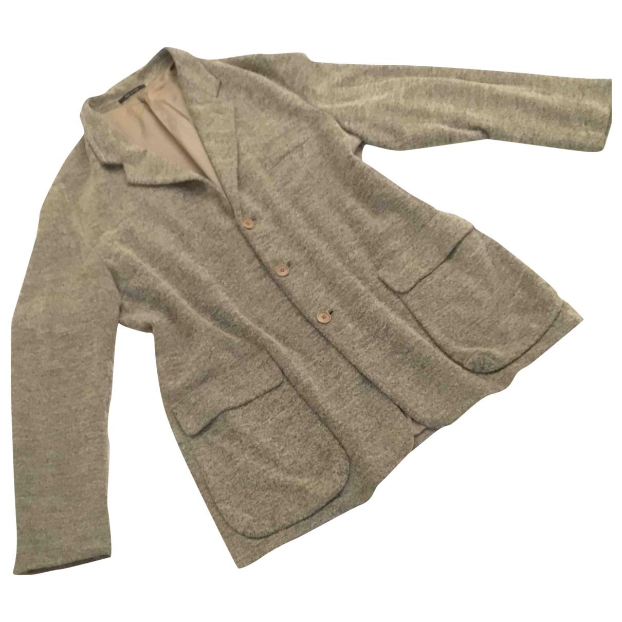 Giorgio Armani - Vestes.Blousons   pour homme en coton - gris