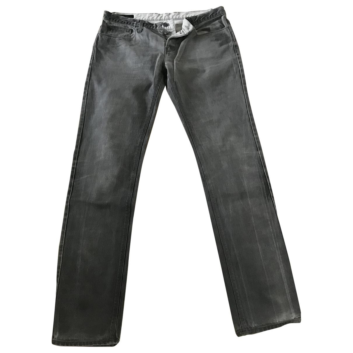 Gucci \N Jeans in  Grau Baumwolle