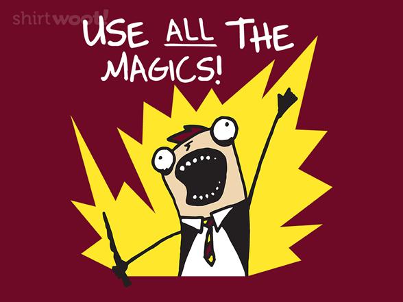 All The Magics T Shirt