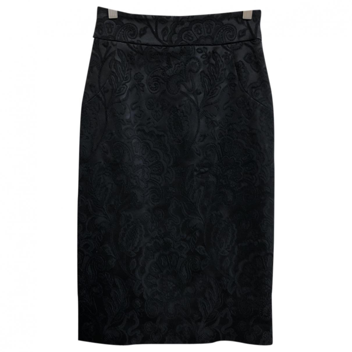 Temperley London - Jupe   pour femme en soie - noir