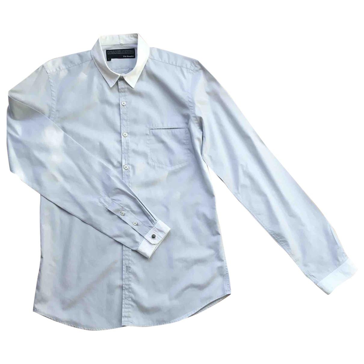 The Kooples \N Hemden in  Grau Baumwolle
