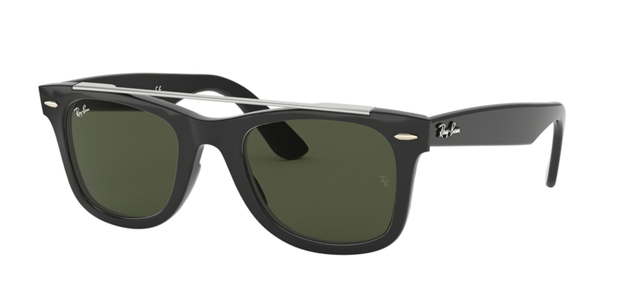 Ray-Ban RB4540F Asian Fit 601/31 Mens Sunglasses Black Size 52