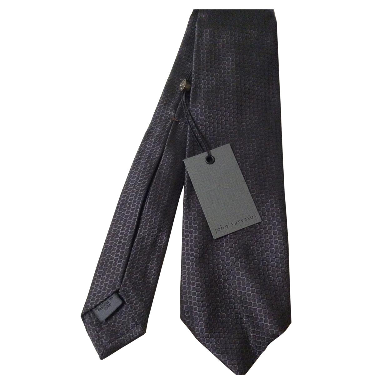 John Varvatos \N Krawatten in  Schwarz Seide