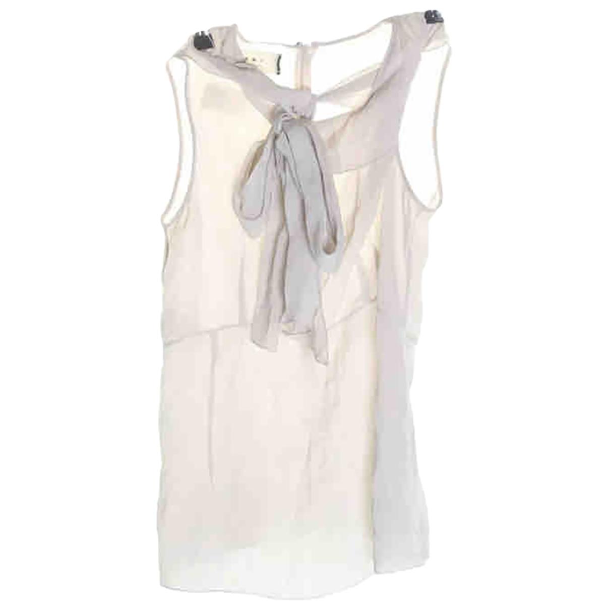 Marni \N Beige Linen  top for Women S International
