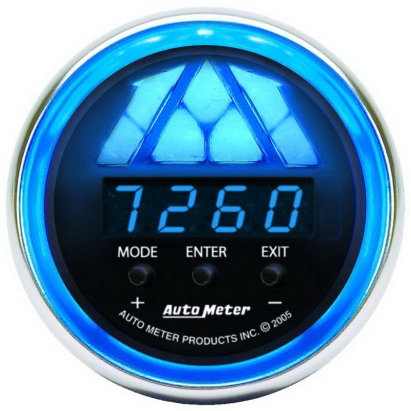 AutoMeter GAUGE; TACHOMETER; DIGITAL RPM W/LED SHIFT LIGHT; COBALT