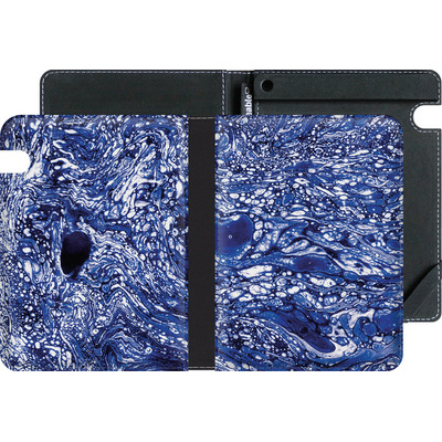 Amazon Kindle Voyage eBook Reader Huelle - Marbled Blue von Amy Sia