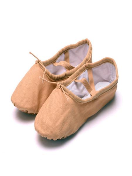 Milanoo Zapatillas de ballet de lona comodas